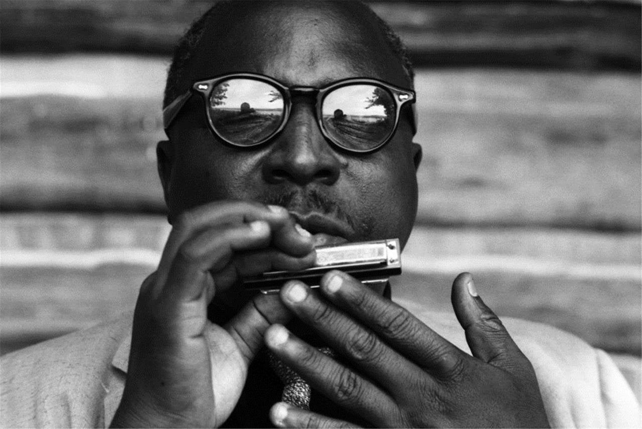 David Gahr Portrait Photograph - Sonny Terry