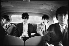 The Beatles in Limo