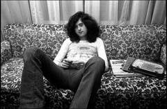 Jimmy Page on Couch