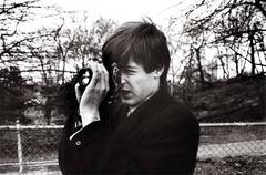 Paul McCartney [with camera]