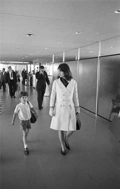 Jackie Kennedy & John Kennedy Jr.