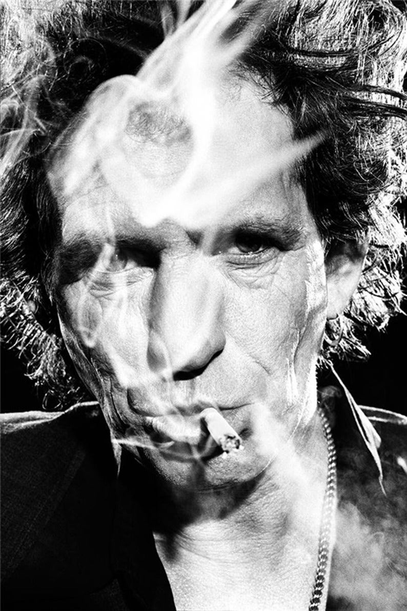 Stephanie Pfriender Stylander - Keith Richards [with smoke] 1