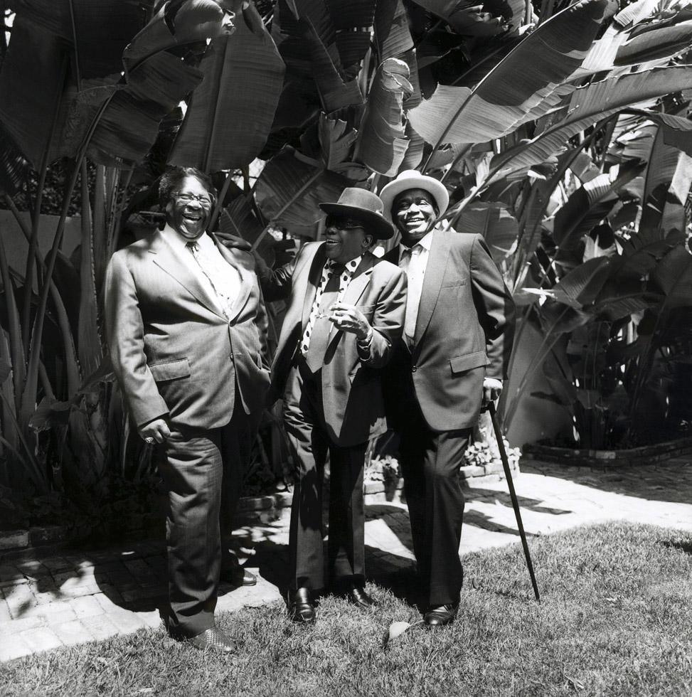 John Lee Hooker, Willie Dixon, BB King, Los Angeles, CA