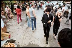 Debbie Harry & Clem Burke, 14th Street, NYC