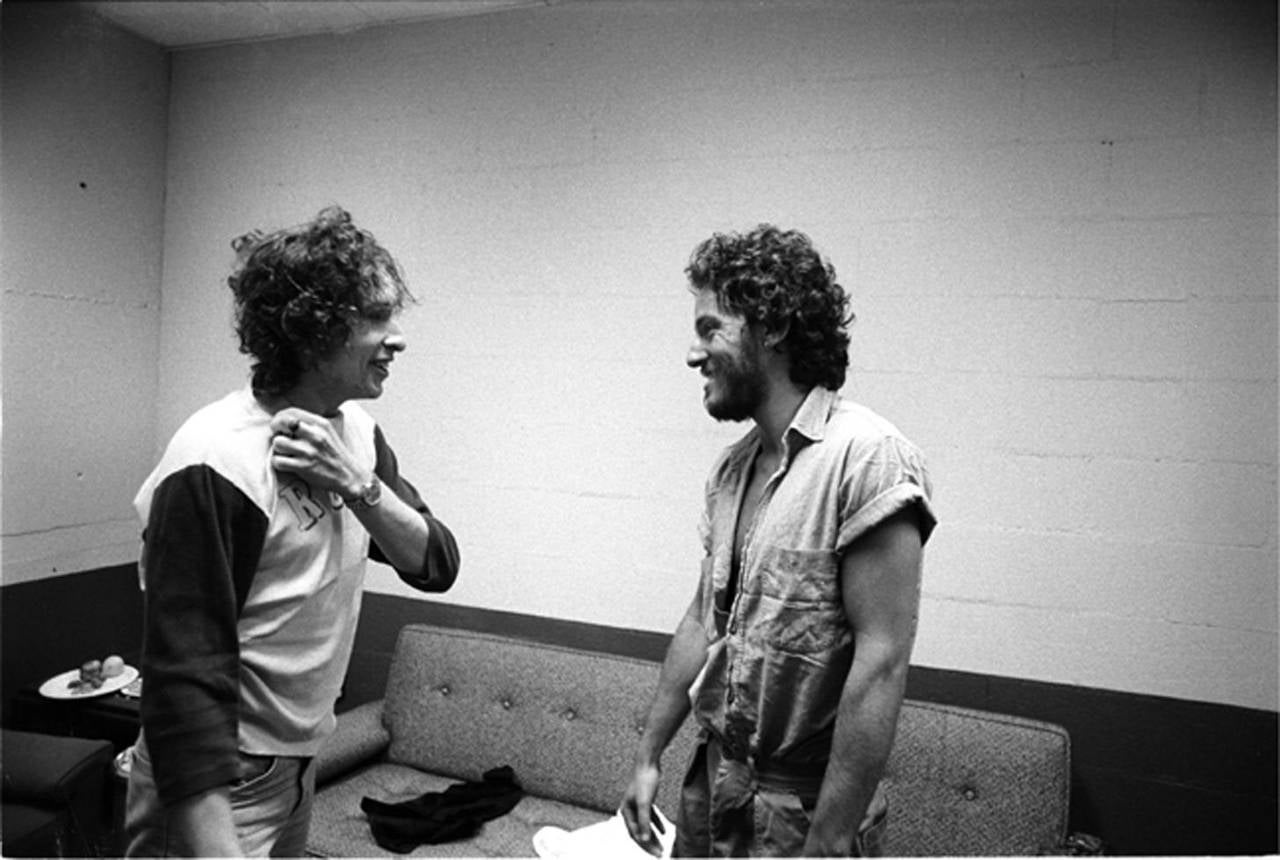 Bob Dylan and Bruce Springsteen