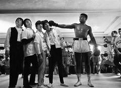 """The Beatles and """"The Greatest"""", Cassius Clay (Muhammad Ali) in the Ring"""