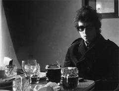 Bob Dylan, BBC TV studios, London
