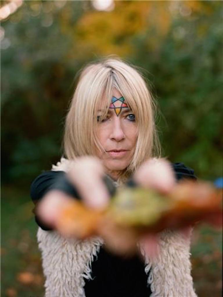 Autumn de Wilde Color Photograph - Kim Gordon, Northampton, Mass