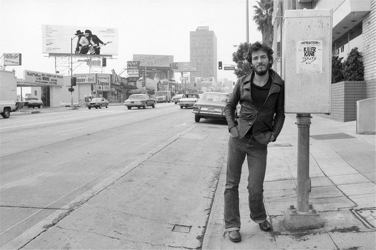 Bruce Springsteen, Sunset Strip, Los Angeles