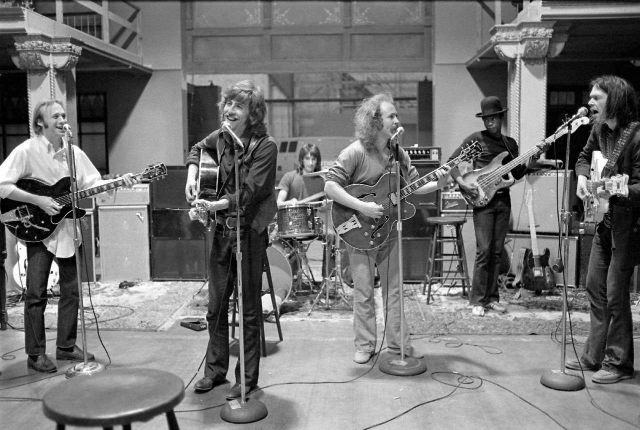 Crosby, Stills, Nash, & Young, Rehearsal