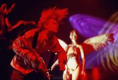 Kurt Cobain, Los Angeles onstage