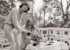 George Harrison and the Maharishi, India