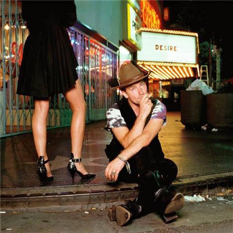 """Bono, """"Desire"""", 1988"""