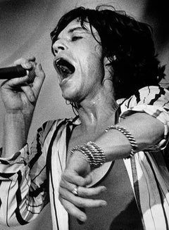 Mick Jagger, with Rolling Stones, 1980