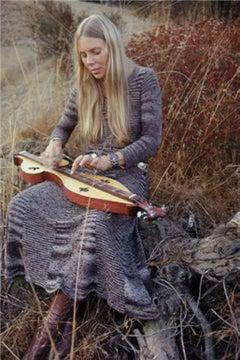 Joni Mitchell in Laurel Canyon, 1970