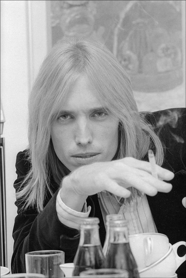 Allan Tannenbaum Portrait Photograph - Tom Petty, New York City, 1977