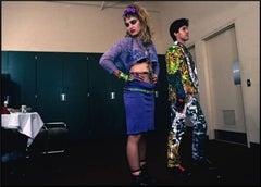 Madonna Backstage