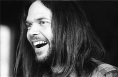 Neil Young Laughing, 1971