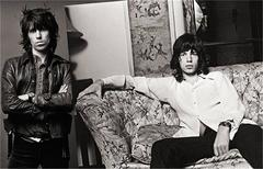 Mick Jagger & Keith Richards, The Rolling Stones, 1972