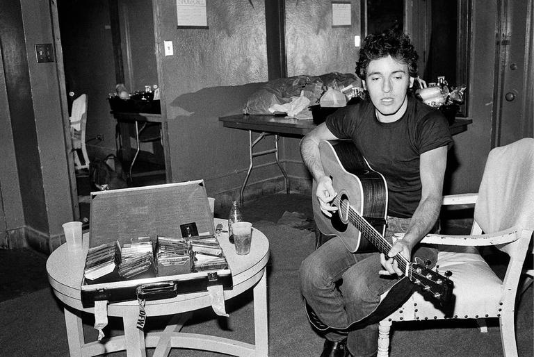 <i>Bruce Springsteen</i>, 1978, by Lynn Goldsmith, offered by Morrison Hotel Gallery
