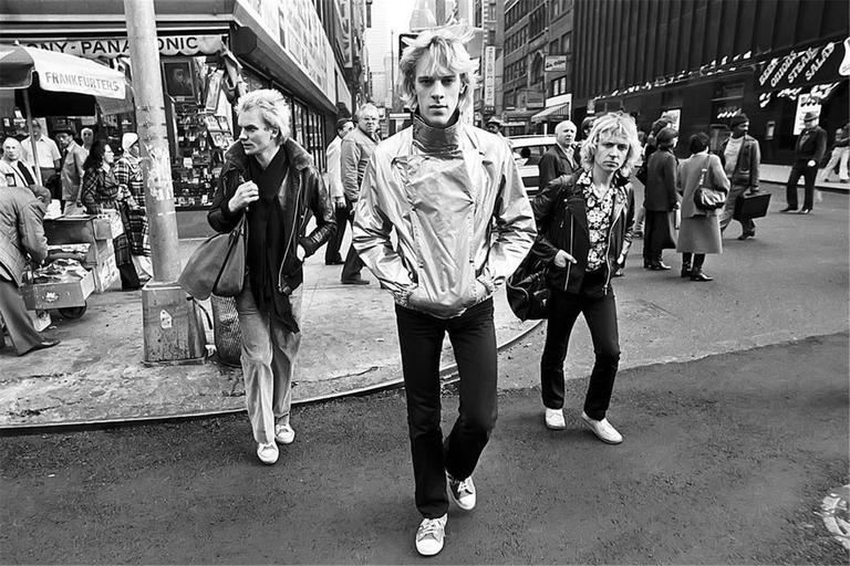 The Police, New York City, 1978