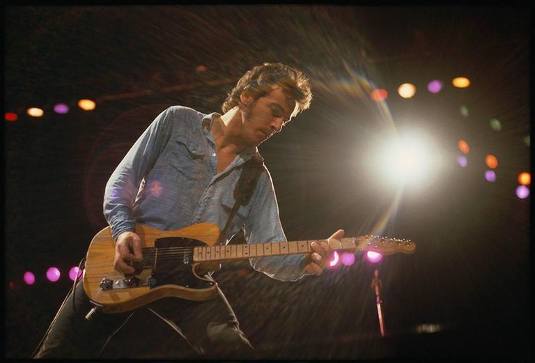 Joel Bernstein Bruce Springsteen In Concert Photograph