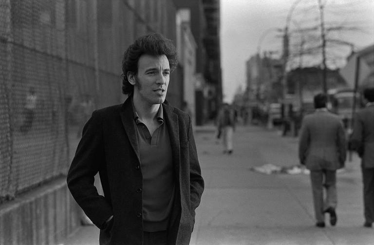 Joel Bernstein Black and White Photograph - Bruce Springsteen
