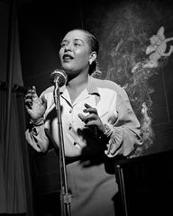 Billie Holiday, New York City, 1949