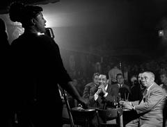 Ella Fitzgerald Singing to Duke Ellington, Downbeat, NYC, 1948