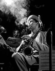 "Dexter Gordon, ""Smoke"", New York, 1948"