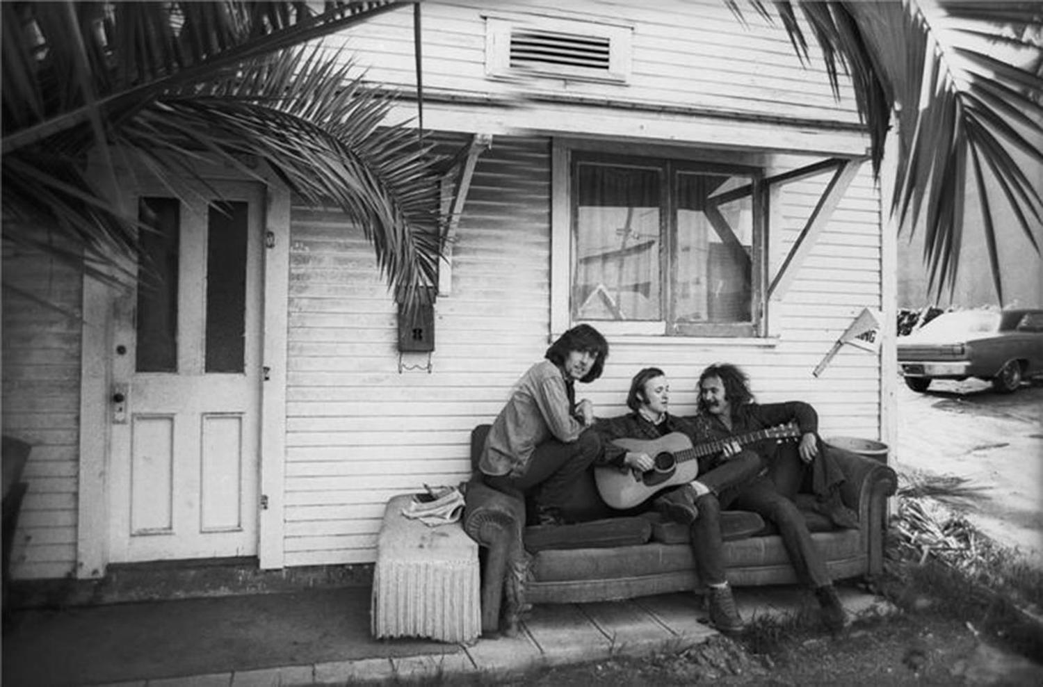 Jim Browne Jeep >> Henry Diltz - Crosby, Stills, and Nash Album Cover Outtake ...
