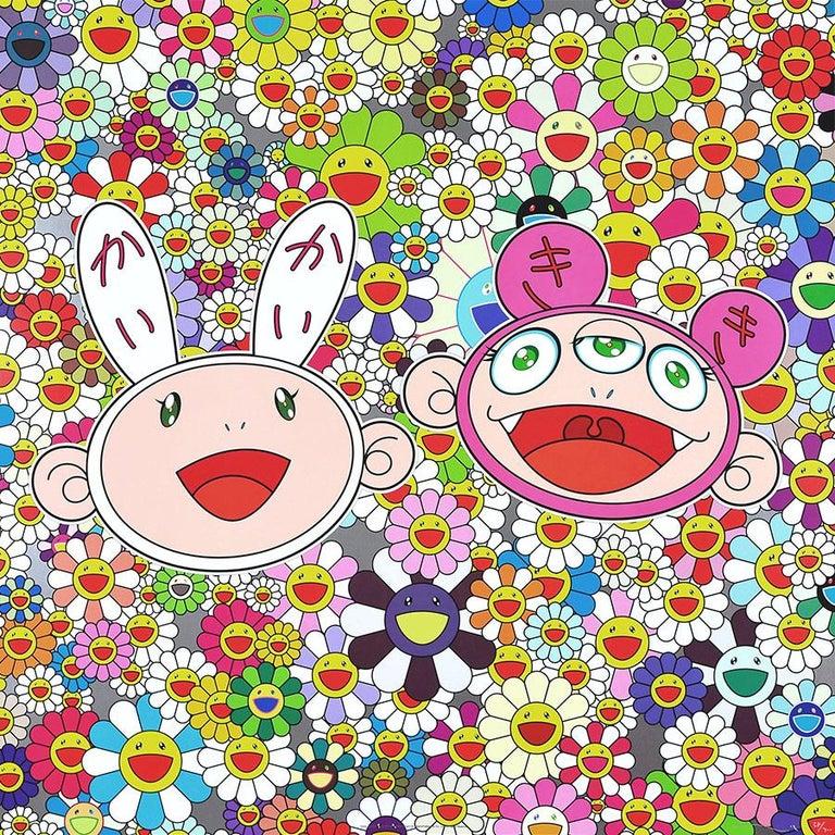 TAKASHI MURAKAMI: Kaikai Kiki and Me:  Lots of Fun. Limited edition hand signed
