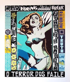 FAILE: The Right One, Happens Everyday - Screen print s/n Pop Art, Street art