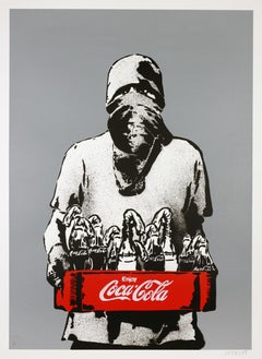 ICY AND SOT: Molotov - Screen print hand signed, numbered Street art, Graffiti