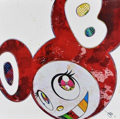 TAKASHI MURAKAMI: And Then x6 (Vermilion) Hand signed & numb. Superflat, Pop Art