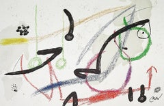 JOAN MIRÓ Maravillas con variaciones... Lithograph Contemporary art, Abstraction