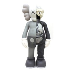 KAWS: Companion Flayed (Grey) - Design Vinyl Sculpture. Modern, Pop Art, Urban