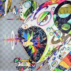 TAKASHI MURAKAMI: Homage to Francis Bacon. Pop Art, Superflat, Japanese Modern