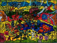 King Arthur's Legend - Anick Langelier, 21st Century, Outsider art