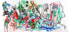 Good luck - Caroline Veith, 21st Century, Contemporary figurative drawing