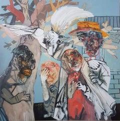 Four promises - Sergio Moscona, 21st Century, Figurative painting