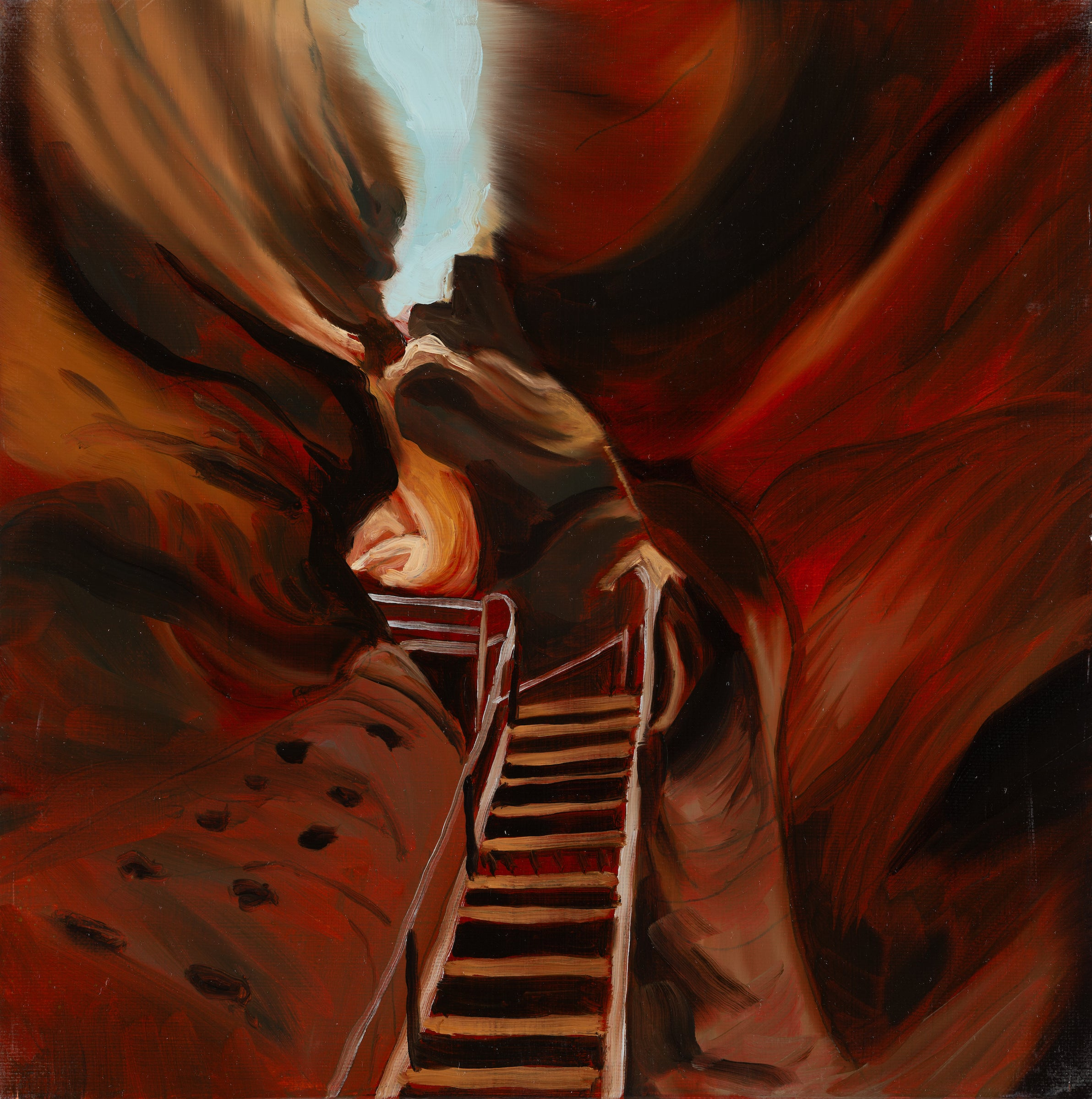 ANTELOPE CANYON  -  from the series: MADE IN USA, Landscape, Expressionism
