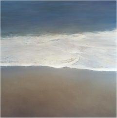 4 Seconds 1 by Todd Kenyon - blue ocean water rolling on the sand.