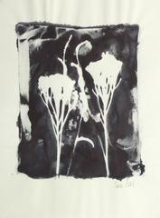 English Ink Painting - Wildflowers