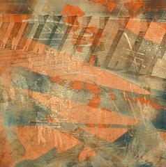American Modern Art - Orange