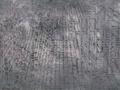 American Modern Art - Hong Kong Confusion Grey