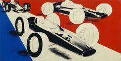 Vintage French Modern - Car Race