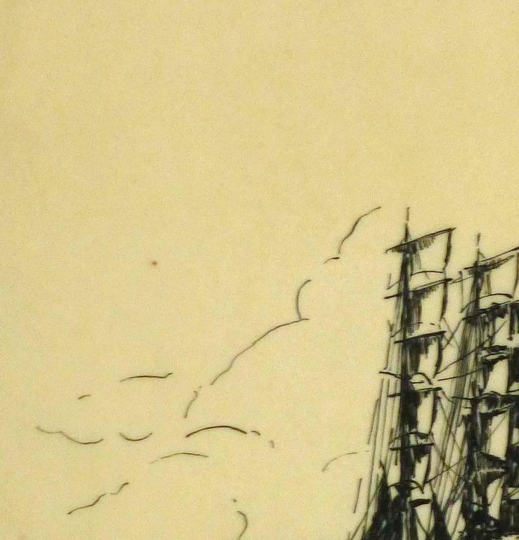 Pen & Ink - Calm Seas 2
