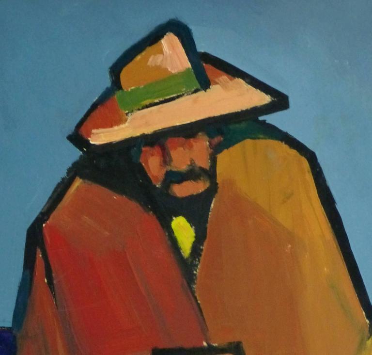 Oil Portrait - Hombre de Descanso - Painting by Unknown