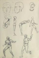 Pencil Sketch - Figure & Faces Study